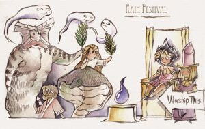 Rain Festival Time by otherwise