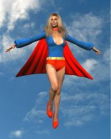 SuperGirl 1970's by cattle6