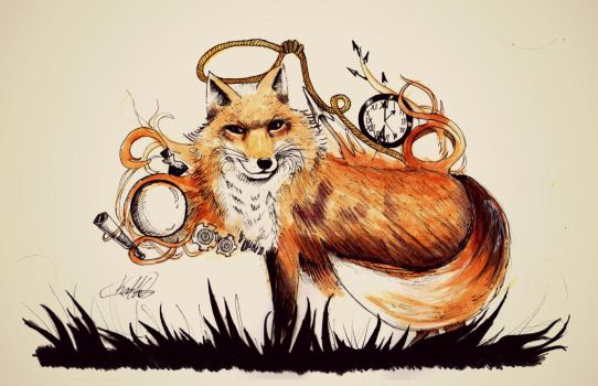 Day 6: The Fox by BurningSpinKilljoy
