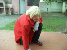 Edward Elric cosplay by Azofighter