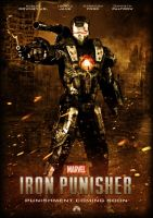 Iron Punisher Movie Poster by rcrain98