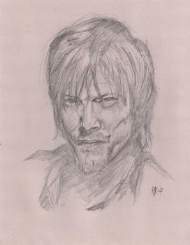 Norman Reedus as Daryl Dixon by Gossamer1970