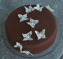 Butterfly Cake by YellowDaw