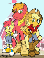 SA-pple Family by MolochTDL
