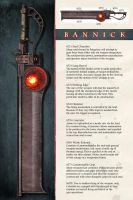 Bannick - Crimson's Weapon by Kharnage