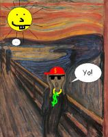 the scream is badass by Weirddudeguy