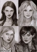 Angel, Vampire, Witch and Flatmate by Verlisaerys