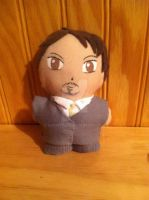 Tony Stark Mini Plushie by snowtigra