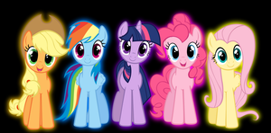 MLP FiM Wallpaper by MYSTERYxGIRL