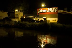 John's Auto Body by thwarttedPhotography