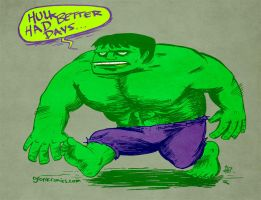 THE INDELIBLE HULK by claudetc