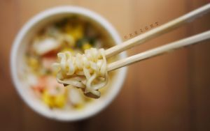 seafood noodles ii by underscorekeight