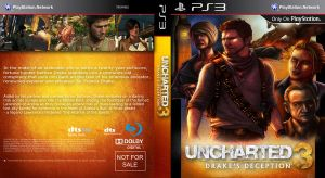 Uncharted 3 Custom Cover by Kmadden2004