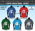 Super SMASH! Shirts by FlamesOfZero