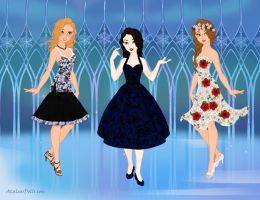 Summer Dresses 2 by Eolewyn1010
