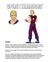 Rondo's Character Biography by SpiritWarriors