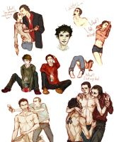 Teen wolf dump by VivienKa