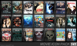 Movie Icon Pack 141 by FirstLine1