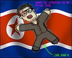 Chibi Jong-Il by RedWireDesigns