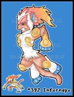 Pokemon: Infernape 2012 by AirRaiser
