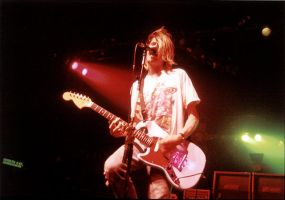 Kurt Cobain's last show. by n0morewordS