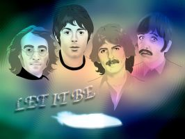 The Beatles... Let It Be by FoolEcho