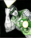 GREEN LANTERN by Hey-Abbott