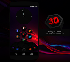 Next Launcher Theme Polygon by Karsakoff