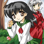 easter for inuyasha by yukifuri