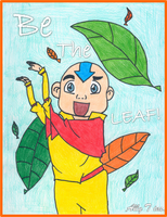 Be The Leaf.... Aang?!?!! by kh4love101