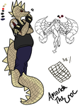 Amanda the croc by alonegothictomboy