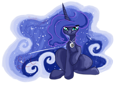 luna mlp by shadowwolffox