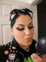 MAKE UP WHORE by luckyhellcat