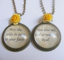 hunger games pendant from NeatEats by rhonda4066