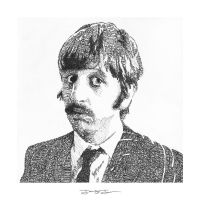 Ringo Starr WordArt by JohnStJohnArt