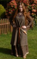 Hangerock. Viking Apron Dress by NightPhoenixArt