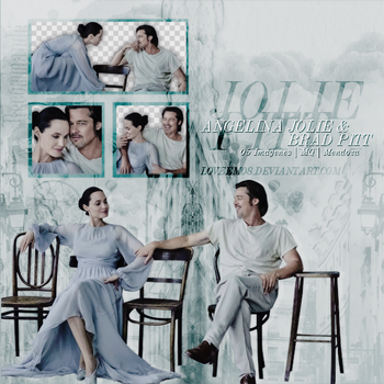 ANGELINA JOLIE AND BRAD PITT PNG Pack #1 by LoveEm08