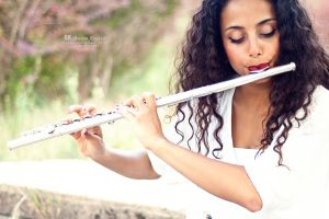 Dream Flautist by dkokdemir