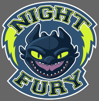 NIGHT FURY - Rate! by Kegawa
