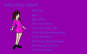 Molley Holley Shiftwell Humanized by buddygirl1004