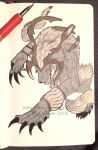Day 14 - Ifrit by Rizuii