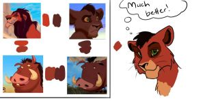Kovu's Colors by JessiRenee