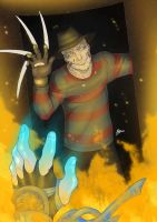 MK Tribute: Freddy by Blunt-Katana
