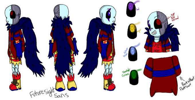 Future Sight Sans Reference sheet by AshleyFluttershy