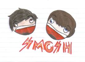 SMOSH by kymmacaleb
