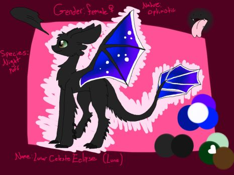 A Lune Ref by LuneTheUmbreon