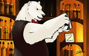 Shirokuma's bar by t-bone-0