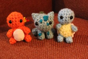 Kanto Starters! by Tessa4244