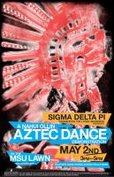Aztec Dance Demo Poster by Seany-Mac