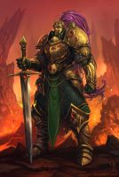 The Paladin of Arton by caiomm